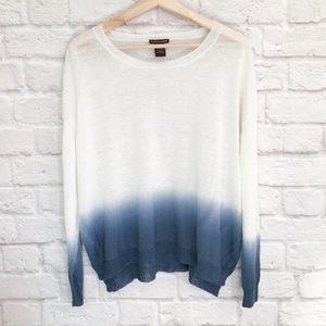 Elliott Lauren Linen Ombre Sweater